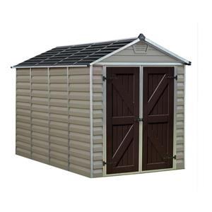 Storage Shed -6' x 10' - Beige