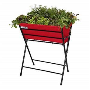 Vegtrug Classic 3160-in x 16-in Foldable Red Planter