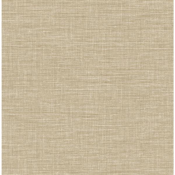 Papier peint « Exhale Faux Grasscloth », taupe