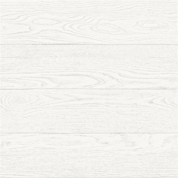 A-Street Prints White Salvaged Wood Wallpaper