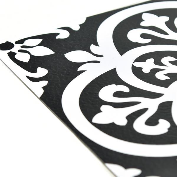 Carrelage en vinyle autocollant gothiques de WallPops,  paquet de 10