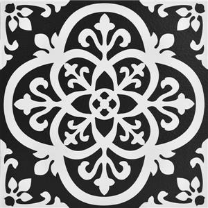 WallPops Gothic Peel and Stick Floor Tiles - 10-Pack
