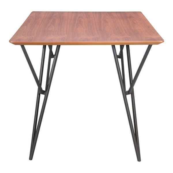 Zuo Modern Audrey Dining Table - 63-in x 29.9-in - Wood - Light Brown