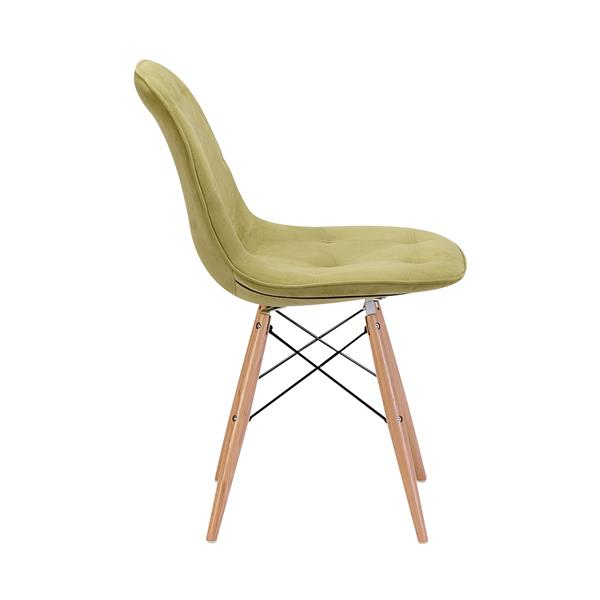 Zuo Modern Probability Dining chair - 19-in x 18.7-in - Green Velvet