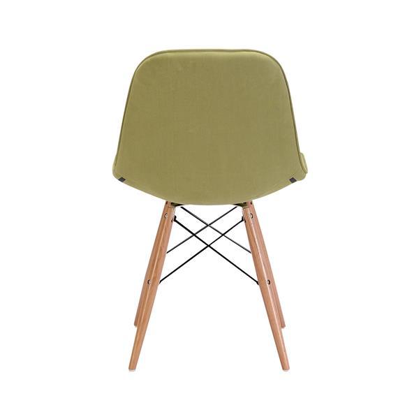 Zuo Modern Probability Dining chair - 19-in x 18.7-in - Green Velvet