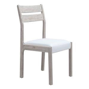 Zuo Modern Beaumont 18.9-in White Dining Chairs (Set of 2)