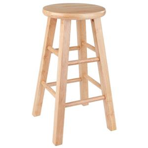 Winsome Wood Dakota 24-in Natural Wood Counter Stool
