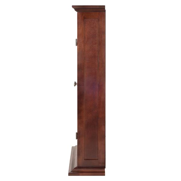 Winsome Wood DVD/CD Cabinet 21.97-in x 44.17-in Walnut