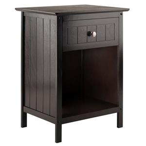 Winsome Wood Blair Accent 18.9-in x 14.9-in x 25-in Wood End Table