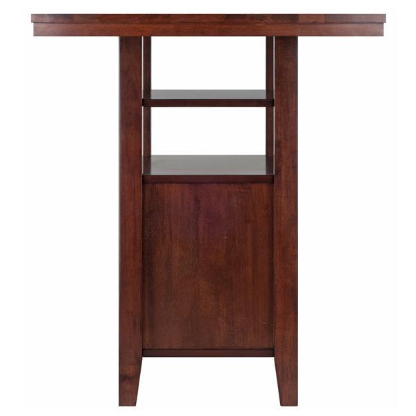 "Table Albany, 35,83"", bois, noyer"