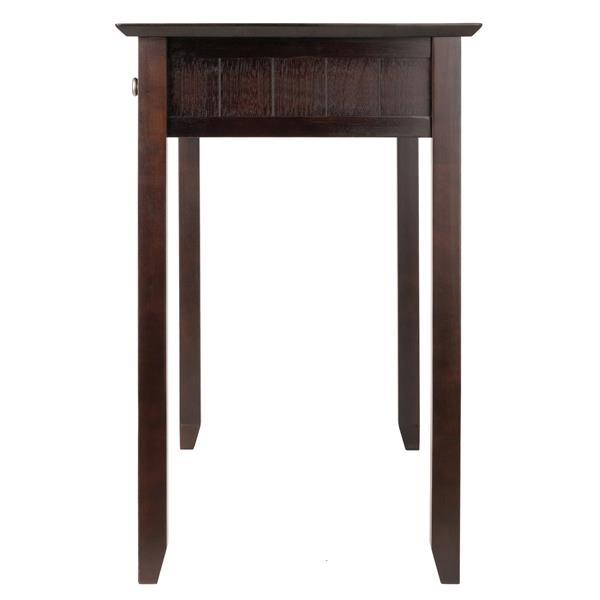 Winsome Wood Burke 31.1-in x 41.97-in Coffee Brown Writing Desk
