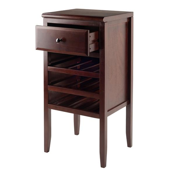 Winsome Wood Orleans Modular Buffet 17.72-in x 35.43-in Brown