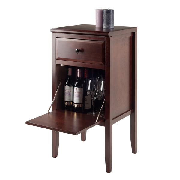 """Buffet modulaire Orleans, 17,72"""", bois, capuccino"""