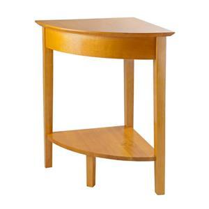 """Table de coin Studio, 20"""" x 29"""", bois, naturel"""