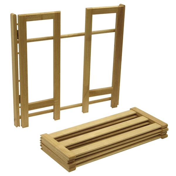 Winsome Wood Clifford Shoe Rack - 28-in x 26-in - Wood - Honey