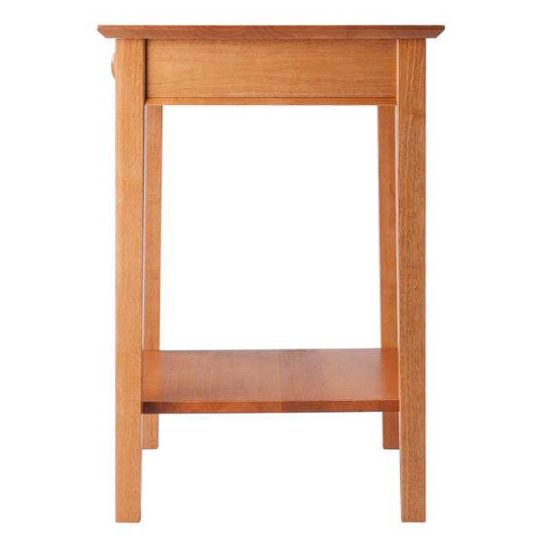 """Table de coin  Studio, 23"""" x 29"""", bois, naturel"""