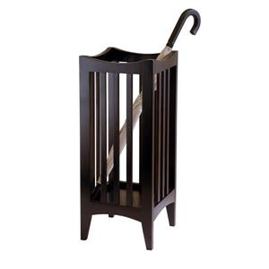 Winsome Wood Portland Umbrella Stand - 11-in x 26-in - Wood - Cappuccino