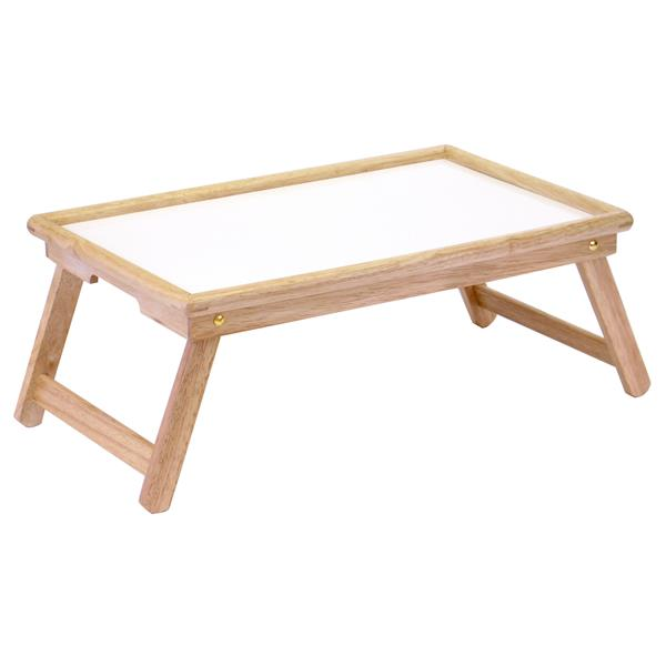Winsome Wood Stockton Breakfast Bed Tray 24.5-in Wood Natural
