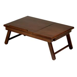 Winsome Wood Alden Walnut Wood Lap Desk