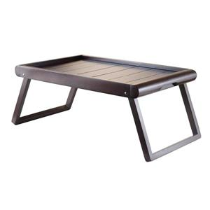 Winsome Wood Elise Dark Espresso Wood Bed Tray