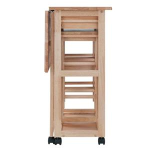 Suzanne Save Space Set - Wood - Natural - 3 Pieces