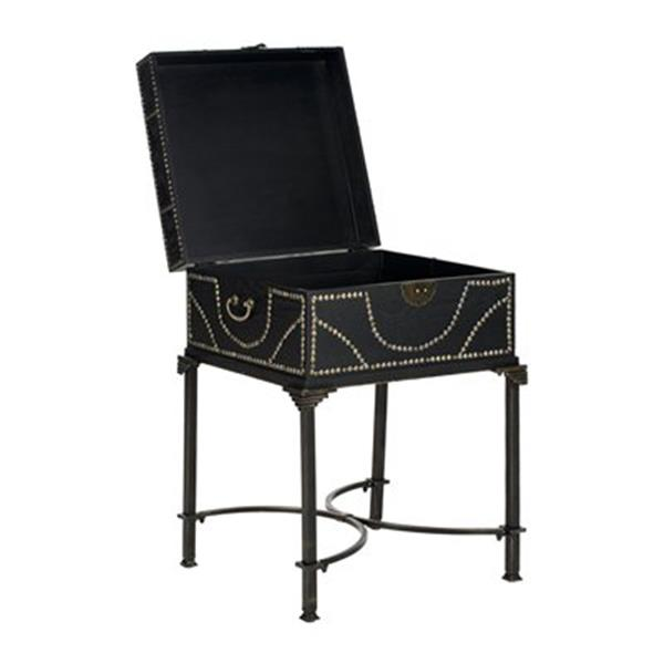 Safavieh 27.70-in x 18.80-in Anthony Dark Brown Night Table