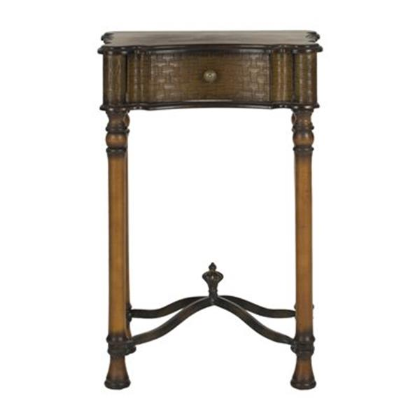 Safavieh 28.40-in x 18.25-in Denise Brown Night Table
