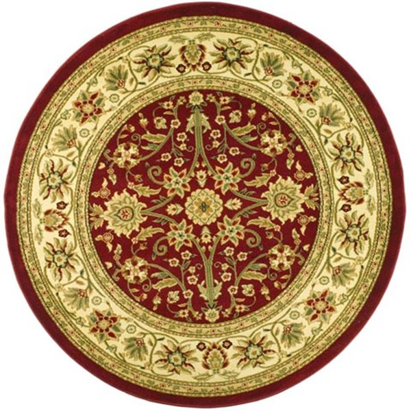 Safavieh Lyndhurst Red and Ivory Area Rug,LNH212F-8R