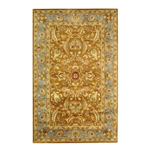 Safavieh HG812A Heritage Area Rug, Brown,HG812A-5
