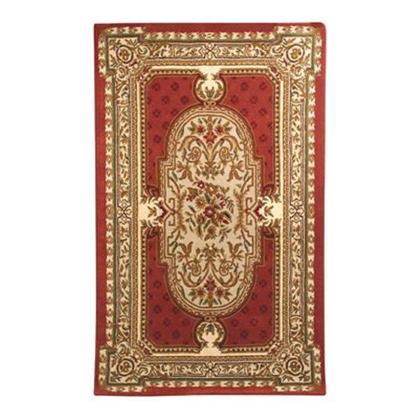 Safavieh HG755A-5 Heritage Area Rug, Red,HG755A-5