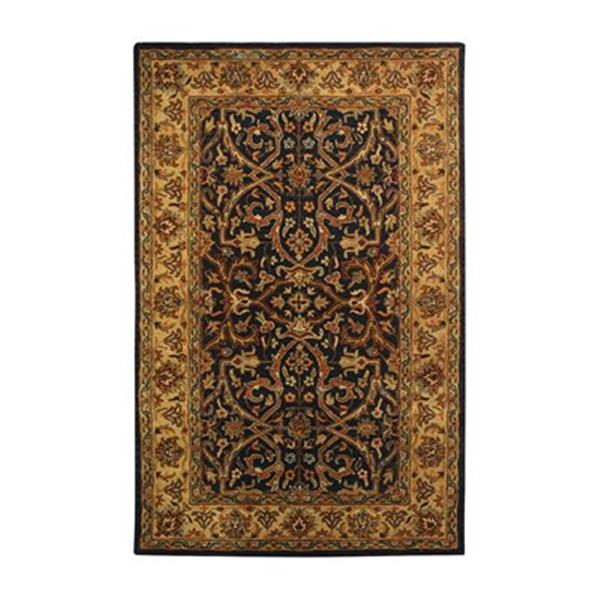 Safavieh HG644A Heritage Area Rug, Charcoal,HG644A-5