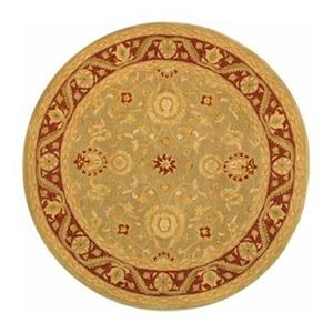 Safavieh AN548A Anatolia Area Rug, Light Green,AN548A-6R