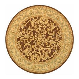 Safavieh AN545B Anatolia Area Rug, Brown,AN545B-6R