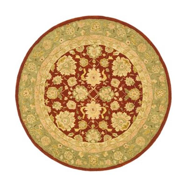 Safavieh AN522D Anatolia Area Rug, Red,AN522D-6R