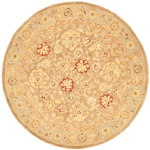Safavieh AN522B Anatolia Area Rug, Tan,AN522B-6R