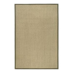 Safavieh Natural Fiber Natural and Green Area Rug,NF443C-8SQ