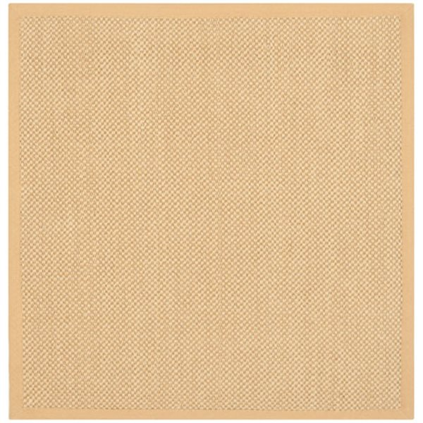 Safavieh Natural Fiber Maize and Wheat Area Rug,NF443A-8SQ