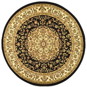 Safavieh Lyndhurst Black and Ivory Area Rug,LNH222A-8R