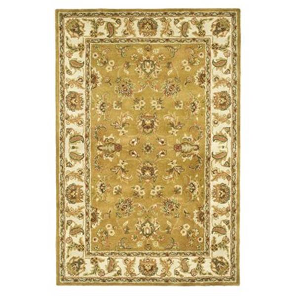 Safavieh Heritage Mocha and Ivory Area Rug,HG816A-5