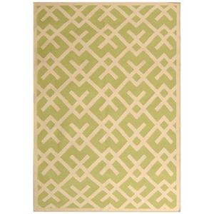 Safavieh Dhurries Light Green and Ivory Area Rug,DHU552A-6