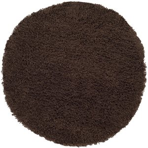 Safavieh Shag Chocolate Area Rug,SG140E-6R
