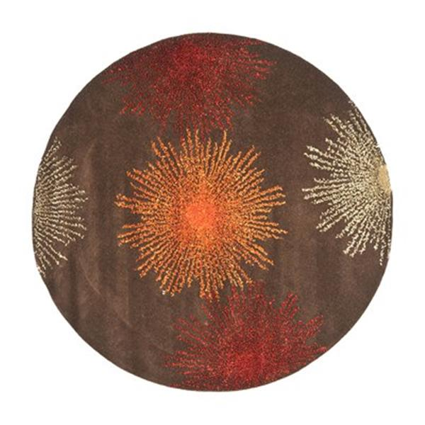 Safavieh Soho Brown Area Rug,SOH712B-6R