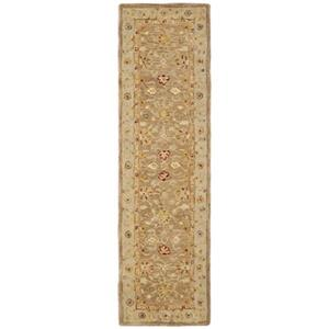 Safavieh Anatolia 27-in Tan/Ivory Runner