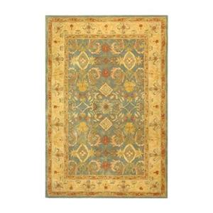 Safavieh Anatolia 27-in Light Blue/Ivory Runner