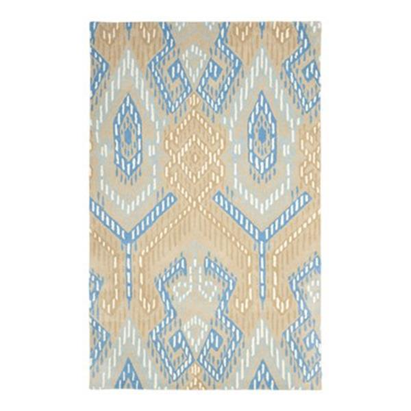 Safavieh Wyndham Beige and Blue Area Rug,WYD373B-5