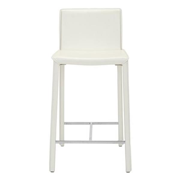 Surprising Safavieh Jason 17 80 In X 35 50 In White Bonded Leather Bar Lamtechconsult Wood Chair Design Ideas Lamtechconsultcom