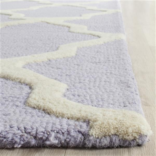 Safavieh Cambridge Lavender and Ivory Area Rug,CAM121C-5