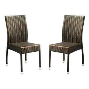 Safavieh PAT1015A-SET2 New Castle Indoor/Outdoor Side Chair