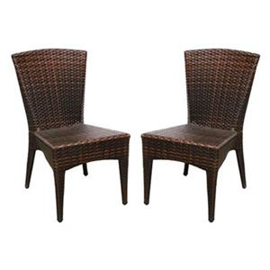 Safavieh PAT1016A-SET2 Newbury Indoor/Outdoor Side Chair (Se