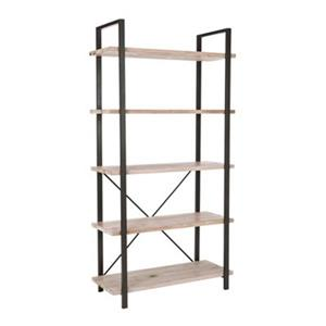 Safavieh American Home 65-in x 33.7-in Light Oak Chantel Etagere